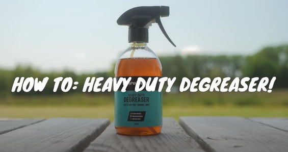 How to use Airolube Heavy Duty Degreaser
